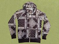 Ethnic Hooded Jacket
